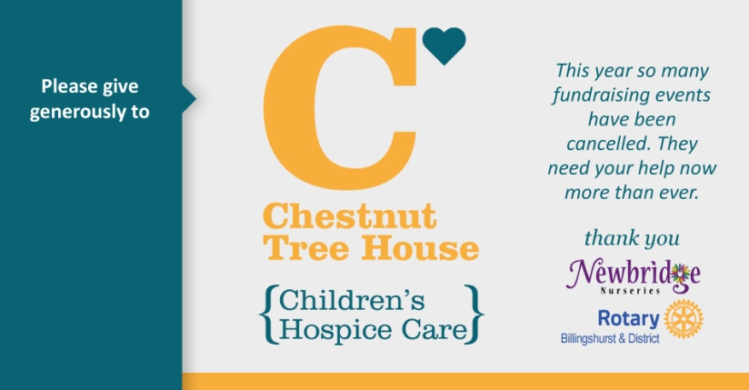 Chestnut Tree House - Just Giving Page
